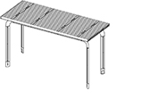 12' louver roof